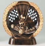 Resin Plate -Go-Kart Go-Kart Trophy Awards
