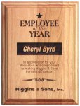 Red Alder Recognition Plaque Recognition Plaques